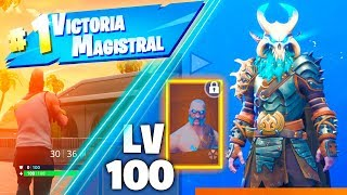 FORTNITE SEASON 5 SKIN LEVEL 100! (NEW MAP, BAILES AND CHARACTERS)