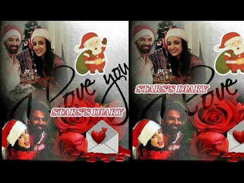 SANAYA IRANI AND BARUN SOBTI WISHING MERRY CHRISTMAS TO ALL FANS thumbnail