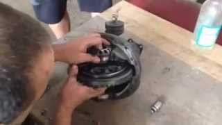 How to install limited slip differential