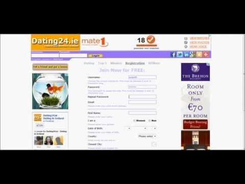 Free Dating Site - A One minute registration online - Dating in Ireland