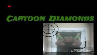 DV - '' de dibujos animados de Diamantes''