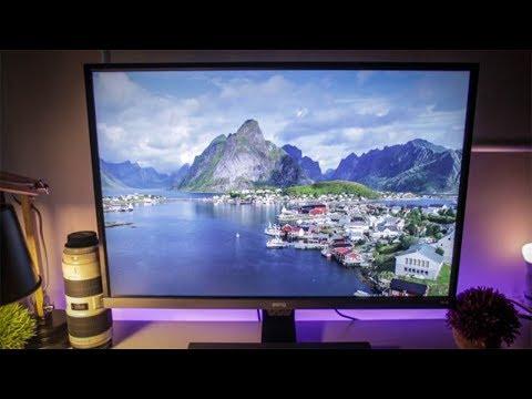 BenQ EW3270U 4K HDR FreeSync Gaming Monitor Review