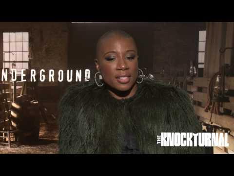 Aisha Hinds, Jasika Nicole, Alano Miller, Misha Green, Joe Pokaski Talk 'Underground'