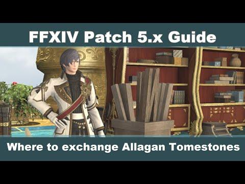FFXIV Allagan Tomestone Exchange Guide - YouTube