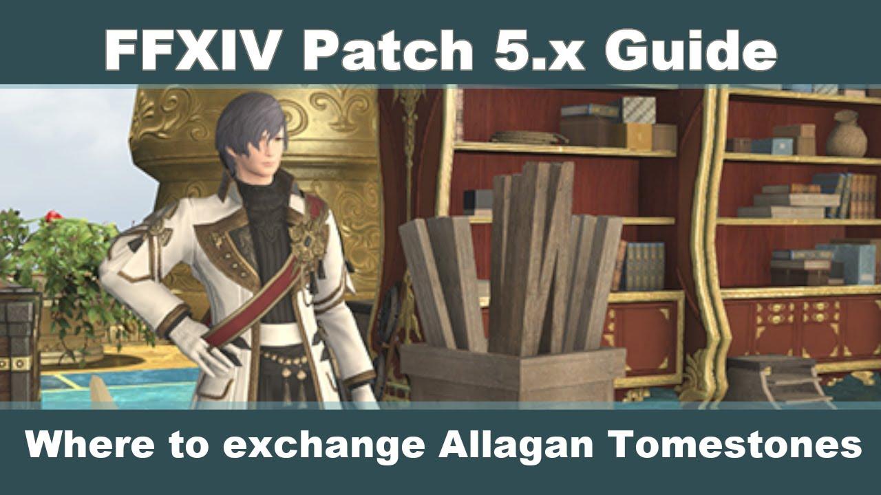 FFXIV Allagan Tomestone Exchange Guide