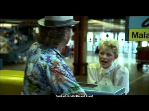 Walter og Carlo  op på fars hat 1985  Kø i lufthavnen