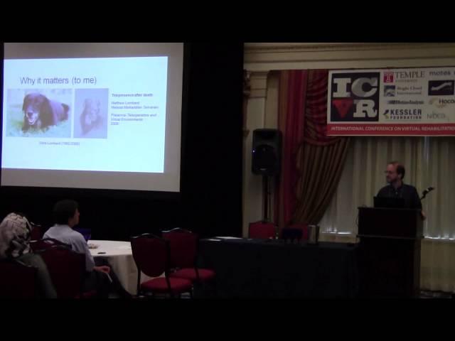 ICVR 2013 - PHILADELPHIA,PA (Keynote 3 - Matt Lombard)