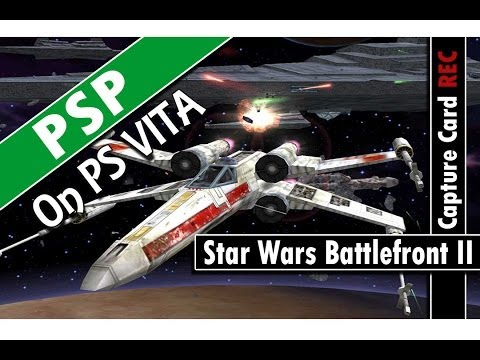 PSP on PS VITA: Star Wars Battlefront II (Classic Gaming On PSVita)