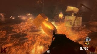 Call of Duty Black Ops 2 Zombies PC online Multiplayer coop gameplay on Town map