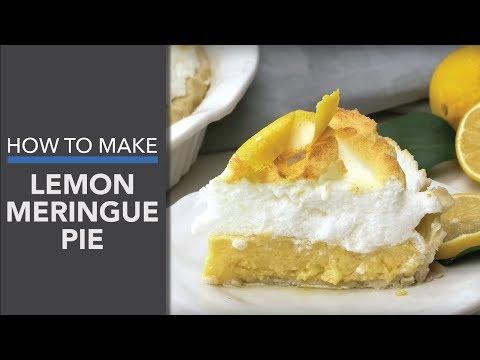 Lemon Meringue Pie Recipe (Paleo-Friendly Dessert Recipe)