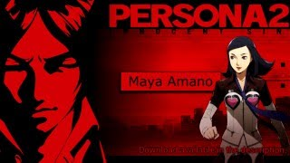Persona 2: Innocent Sin (PSP) - Battle Voice Clips -
