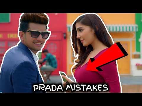 8 MISTAKES IN PRADA SONG BY JASS MANAK | Satti Dhillon | Latest Punjabi Song 2018