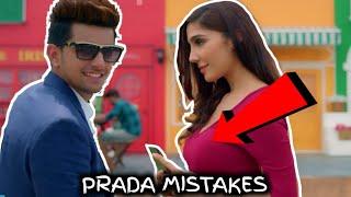 8 MISTAKES IN PRADA SONG BY JASS MANAK | Satti Dhillon | Latest Punjabi Song 2018