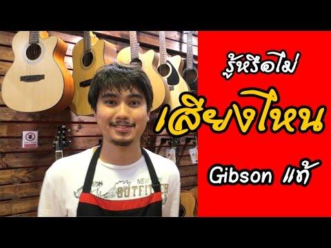 #10 รู้หรือไม่ ว่า สาย Gibson เสียงไหนของแท้เสียงไหนปลอม by Joe เต่าแดง (Taodang)