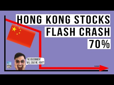 A Bunch Of Stocks In Hong Kong Just FLASH CRASHED By 70%!