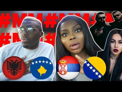 REACTION | ALBANIA vs SERBIA vs BOSNIA Rap/Hip Hop/RnB