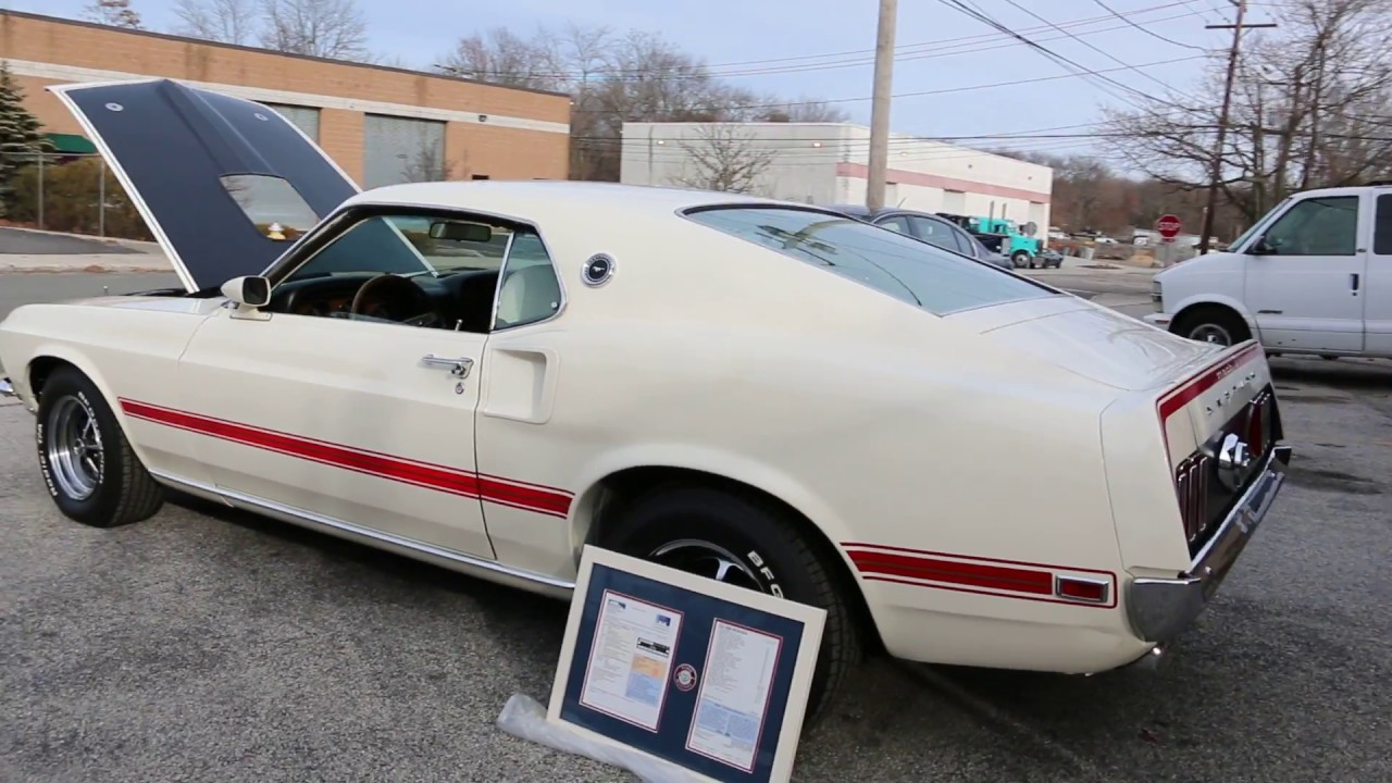 1969 ford mustang mach 1 428 super cobra jet for sale
