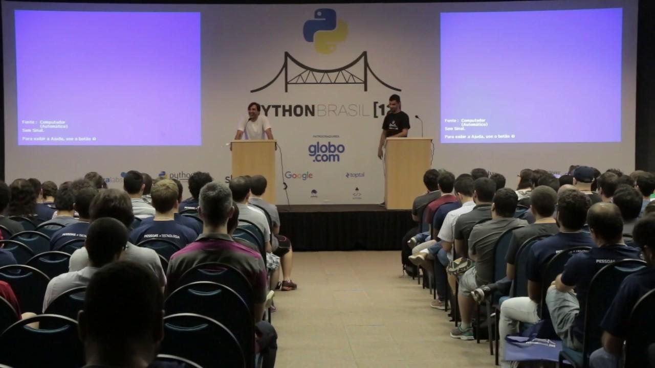 Image from Abertura Python Brasil 12