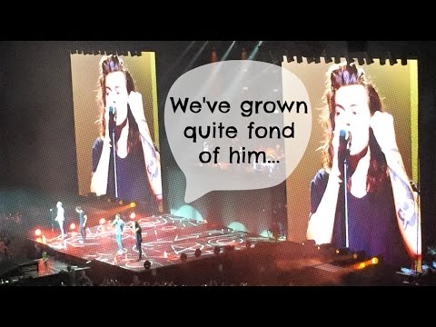 Harry Styles thanks Ireland for Niall Horan | One Direction Dublin
