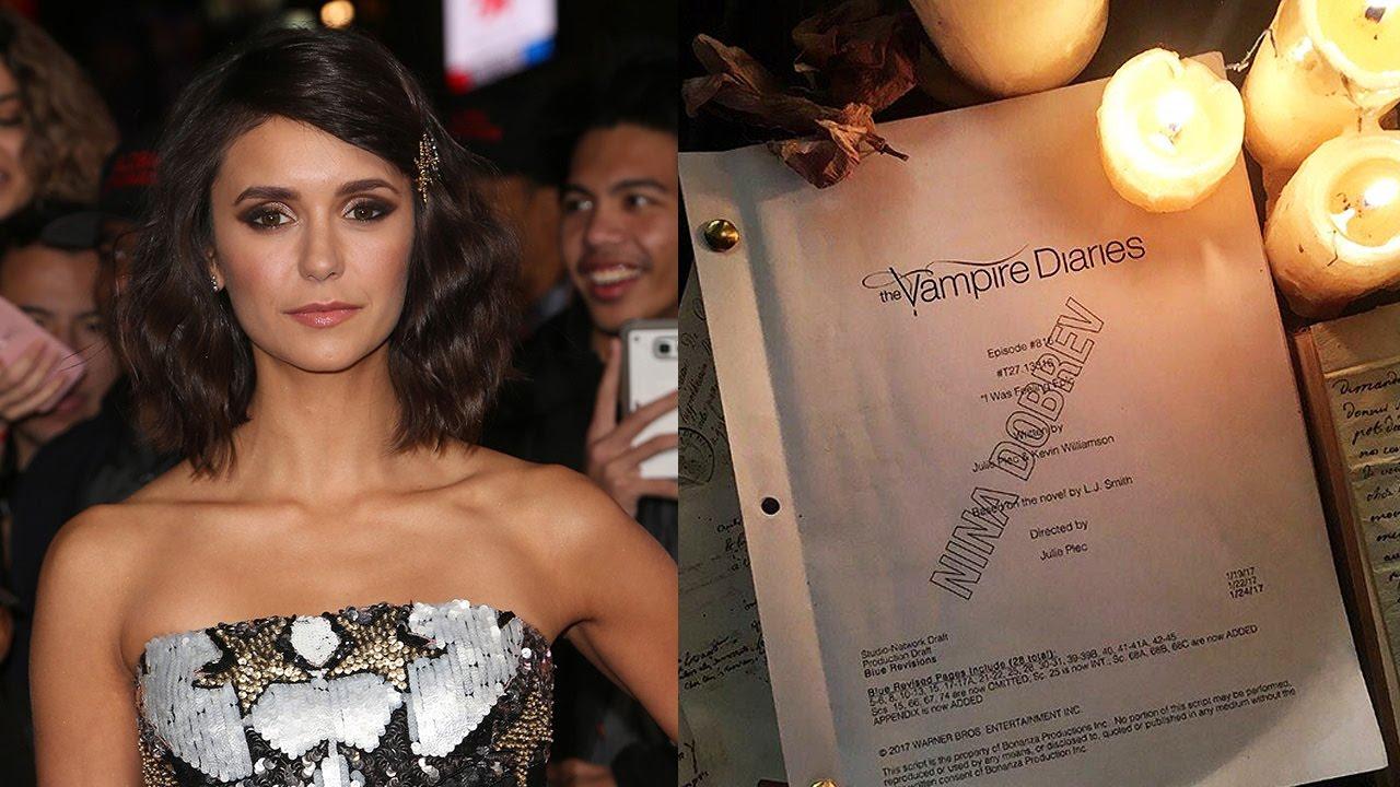 Nina Dobrev OFFICIALLY Returning For Vampire Diaries Series Finale