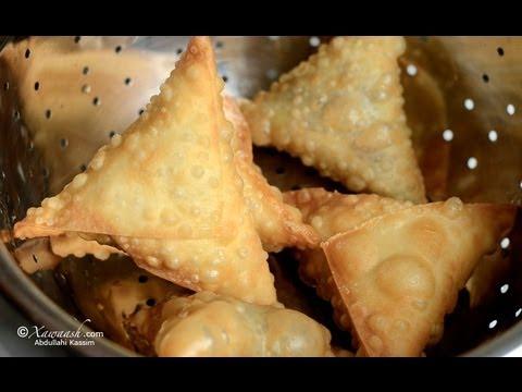 Samosa Pastry Burka Sambuuska Pâte à Samosa عجينة السمبوسه Youtube