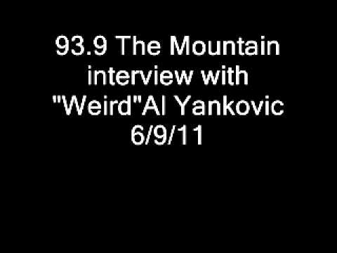 Weird Al Yankovic interview 93.9 The Mountain