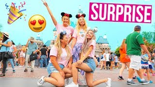 BEST FRIENDS DISNEY SURPRISE!!