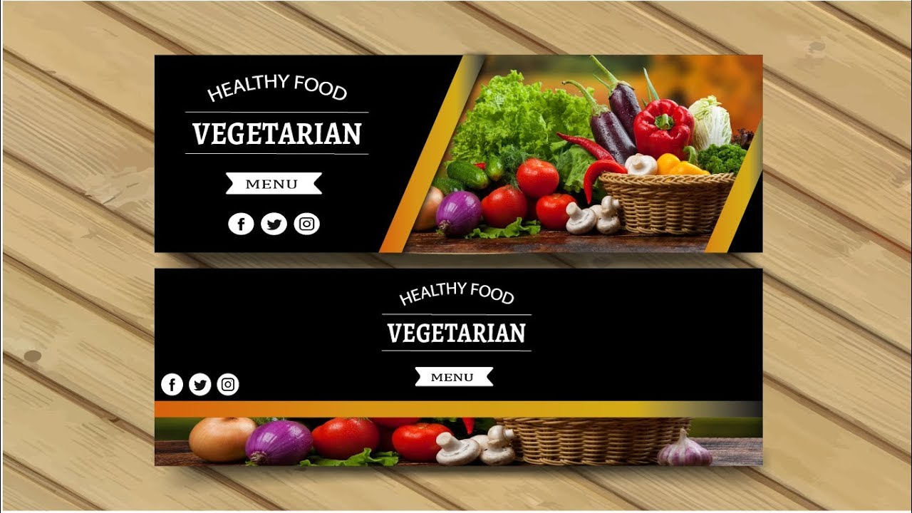 Adobe Illustrator Tutorial | Restaurant Banner Design ...