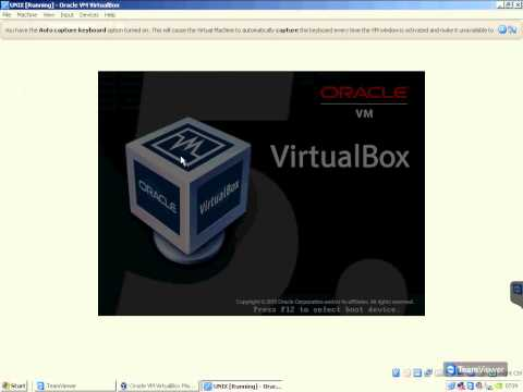 Installation of Unix System V on virtualbox