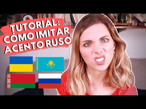 ¿CÓMO IMITAR ACENTO RUSO (ESLAVO)? 🤓Tutorial De Iryna Fedchenko - Ucraniana Habla Español