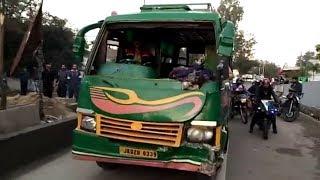 Jammu: Several injured in Matador accident at Amphalla