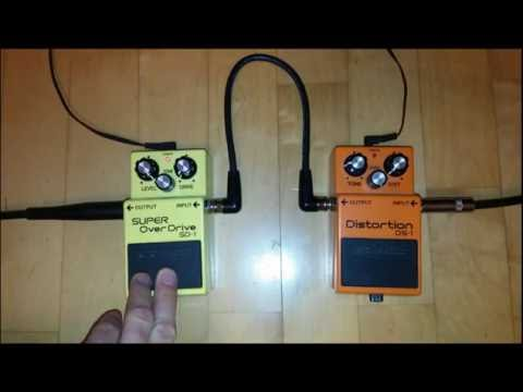 BOSS DS-1 Distortion and SD-1 Super Overdrive Quick Comparison by Damian Welka