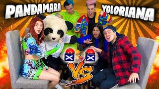¿QUIÉN ME CONOCE MÁS? YOLORIANA vs PANDAMARA - Yolo Aventuras ft. Ami Rodriguez y Javi