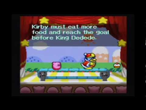 Kirby Super Star: Gourmet Race