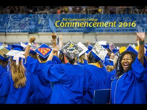 Commencement 2016 (Highlights) | Pitt Community College