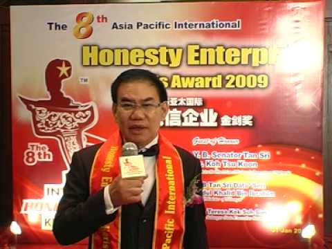 Job Hunt Sdn Bhd - 8th Asia Pacific International Honesty Enterprise KerisAward Winners