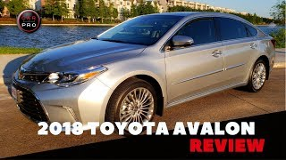 2018 Toyota Avalon Limited Test Drive and Review
