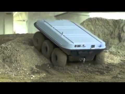 AMSTAF -- Autonomous, Robotic Security Vehicle