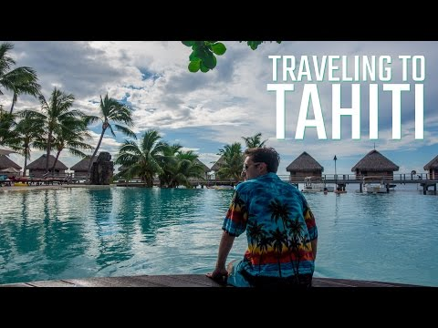 FLYING TO TAHITI