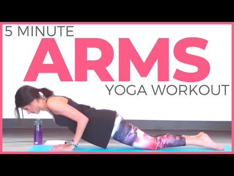 5-Pose Yoga Fix More powerful Arms