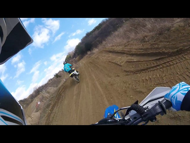 #HUSABERG/プラザ阪下/SUZUKI/DR-Z400/Run the motocross course load tire