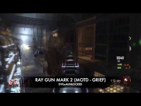 RAY GUN MARK 2 *PACK-a-PUNCH'D* All Zombie Maps *EXCLUSIVE GAMEPLAY*