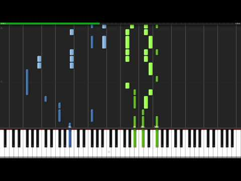 Diver - Naruto Shippūden [Piano Tutorial] (Synthesia)