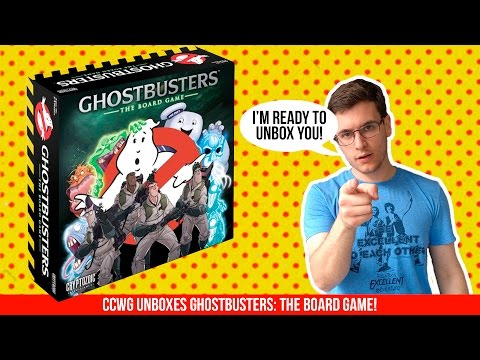 Ghostbusters: The Board Game Unboxing! | Comic Chat with Gat