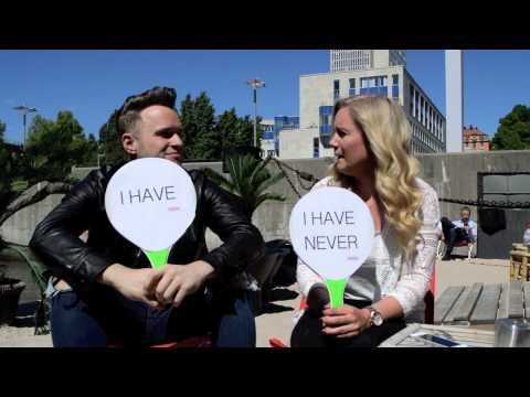 FRIDA plays Never have I ever with Olly Murs 2015