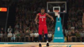 NBA 2K19 Slam Dunk Contest