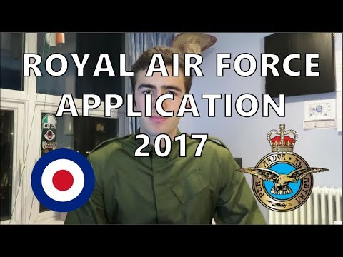 Royal Air Force Application Process 2017 - Officer and Aircrew applicants