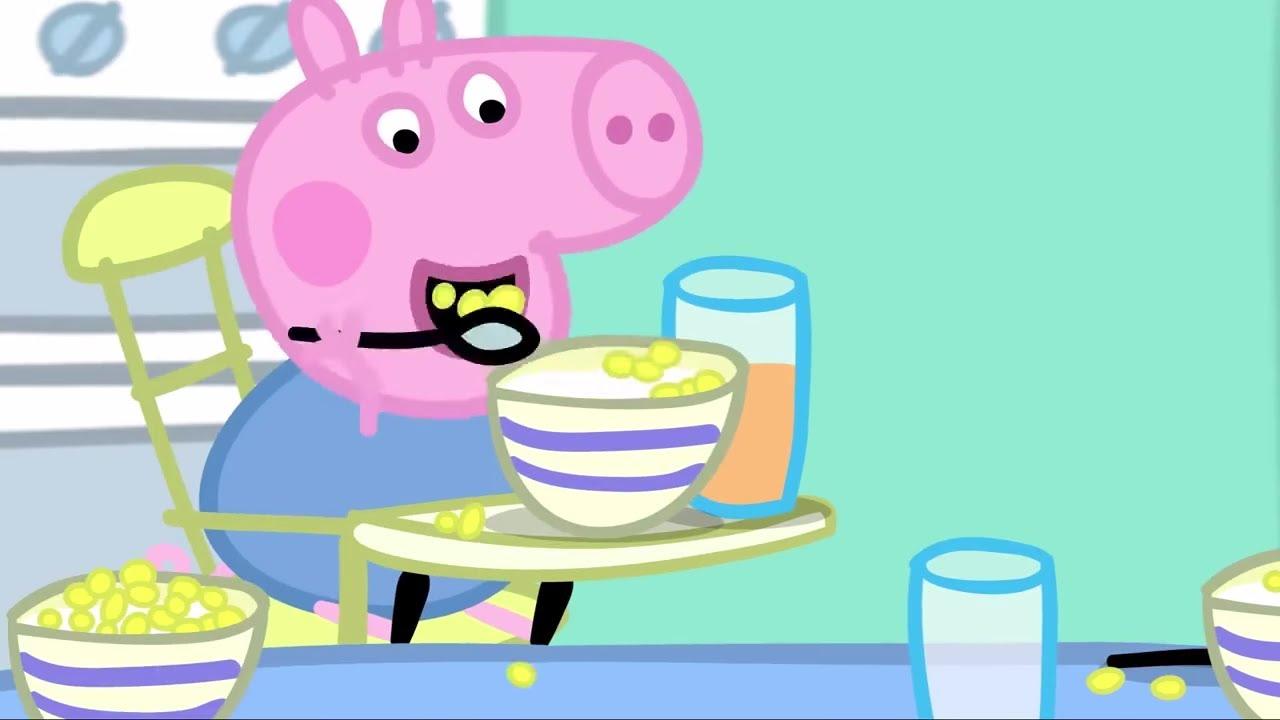 Peppa Pig Português Brasil | O pequeno almoço | HD | Desenhos Animados