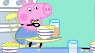 Peppa Pig em Português O pequeno almoço | Compilacao de episodios | 45 Minutos | Desenhos Animados