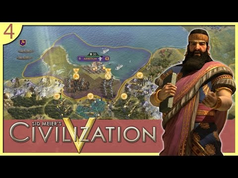 Civilization V: Assyria Edition - #4 - Defending the Homeland!